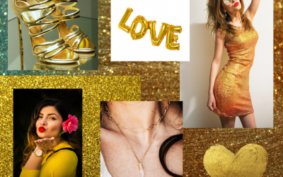 GOLD, a winning colour and how to wear it!